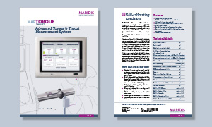 Preview Download MarTorque Thrust leaflet