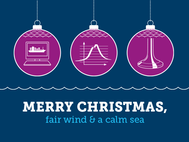 Merry christmas, fair wind & a calm sea